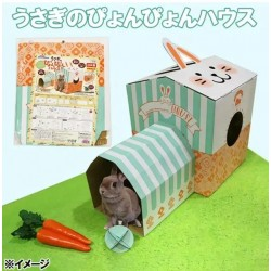 MiniAniman Playing House for Rabbit (Made in Japan)