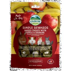 Oxbow Apple & Banana Baked Treats 3oz